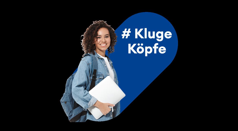 # Kluge Köpfe - Studentin