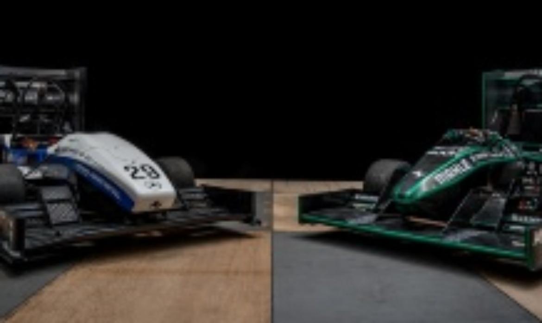 Fahrzeuge des Renn- und Greenteams